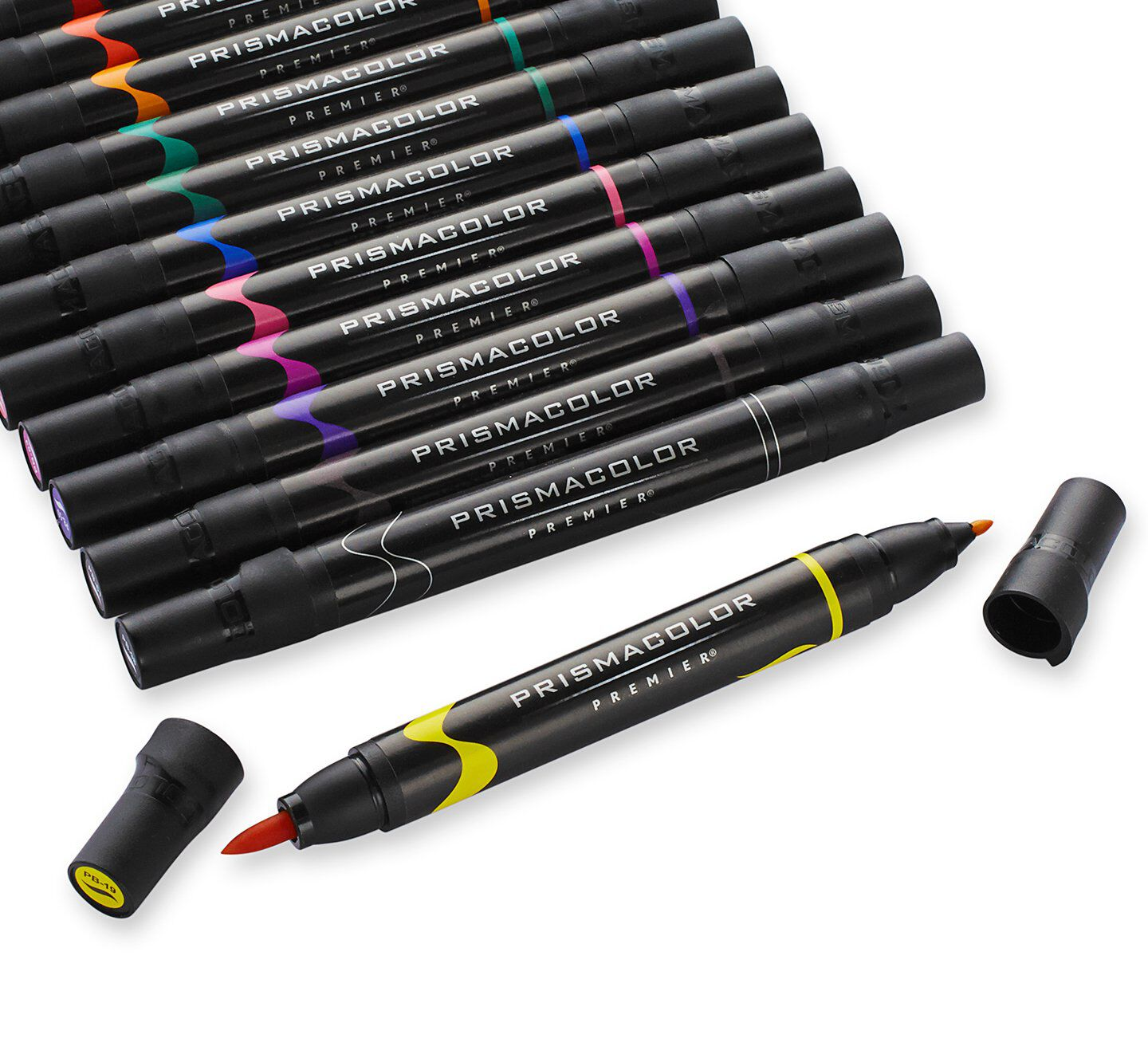 Dual-ended fine art markers